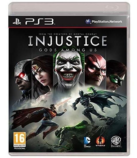 Injustice Gods Among Us - Jogo Ps3