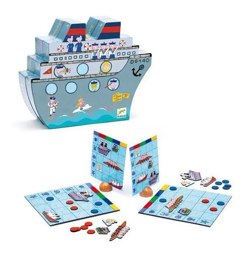 Batalla Naval Magnético Djeco Dj05270