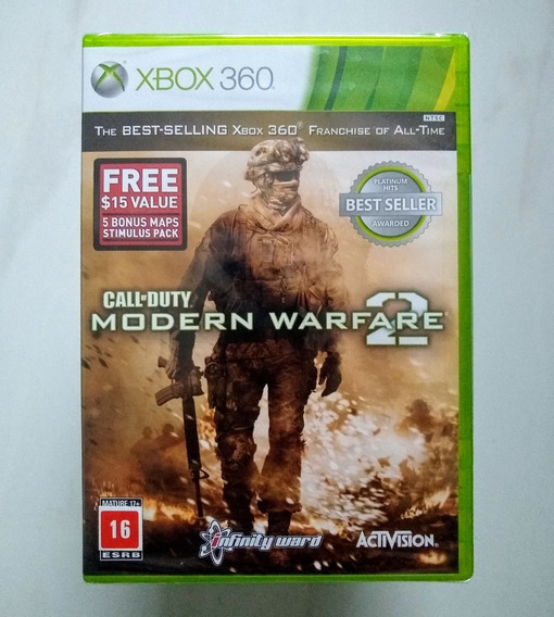 Call Of Duty Modern Warfare 2 Xbox 360 Original Novo Lacrado