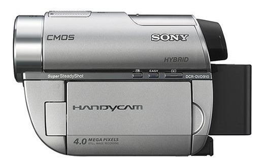 Filmadora Sony Handycam Dcr-dvd910 Prata