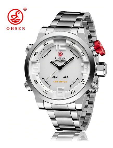 Relógio Masculino Luxo Ohsen Pronta Entrega