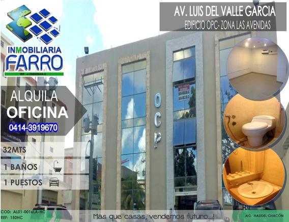 Alquiler De Oficina En El Centro Al01-0023sc-hc