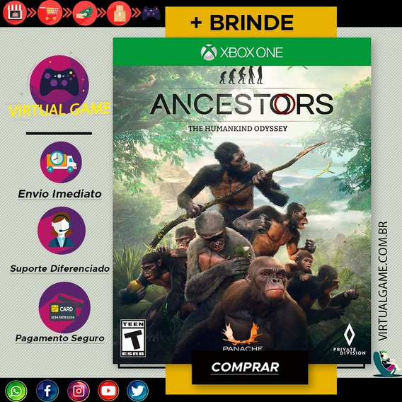 Ancestors: The Humankind Odyssey - Xbox One - Midia Digital