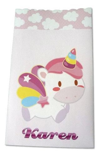 Imagen 1 de 9 de Bolsas De Unicornio Para Dulces - Fiestas - Pkt De 30 - G