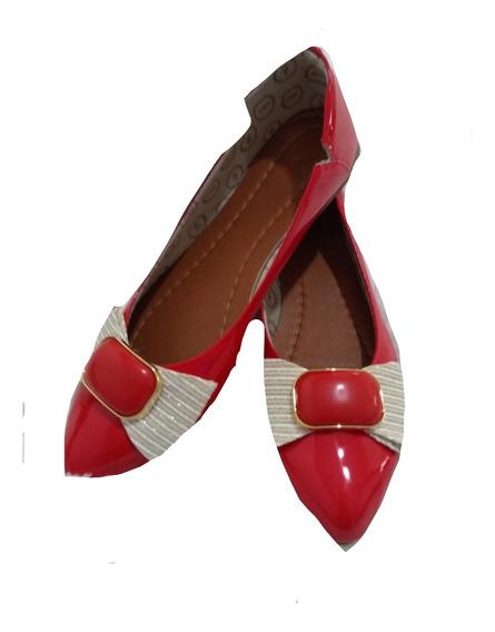 Sapatilha Rasteira Sapato Feminina Silicone