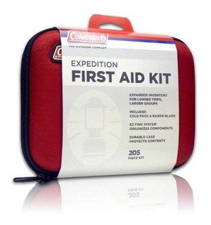 Coleman Expedition - Kit De Primeros Auxilios Para Emergenci