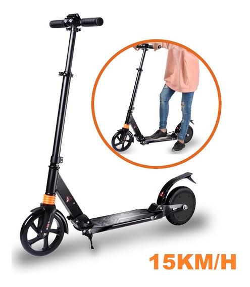 Monopatin Scooter Electrico Plegable 15km/h Recargable 150w