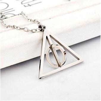 Collar Las Reliquias De La Muerte Harry Potter Oferta Envio