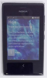 Nokia Asha 503 Preto Dual Com Avaria Sem Garantia