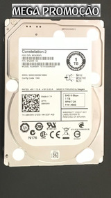Hd Dell 1tb Sas 7.2k 6g 2,5 - Pn:(9rz268-150) Constellation