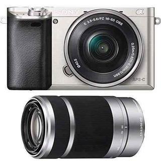Sony Alpha A600024,3mp Cámara Digital Con Zoom Potencia De