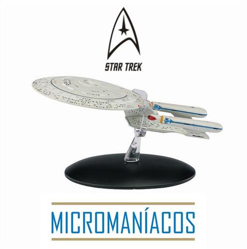 Imagem 1 de 7 de Uss Enterprise Ncc-1701d Star Trek Eaglemoss - Frete Grátis