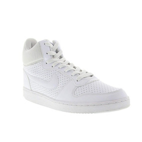 Tênis Cano Alto Nike Court Borough Mid - Masculino Branco