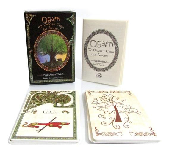 Ogam Oráculo Celta Das Árvores - Baralho 25 Cartas