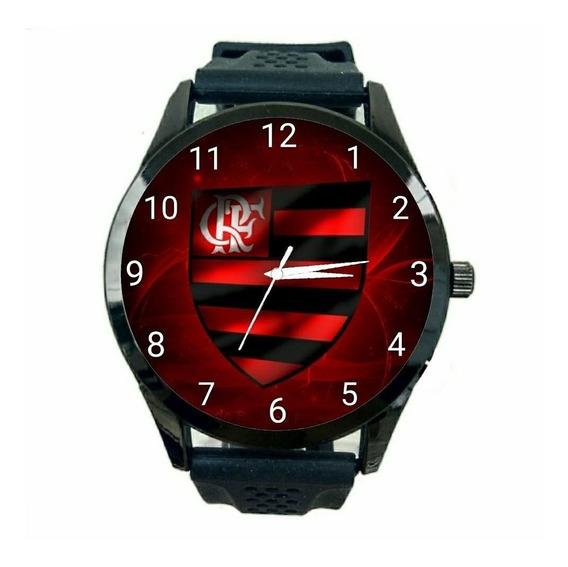 Relógio Flamengo Masculino Oferta Time Esportivo Novo Fc T21