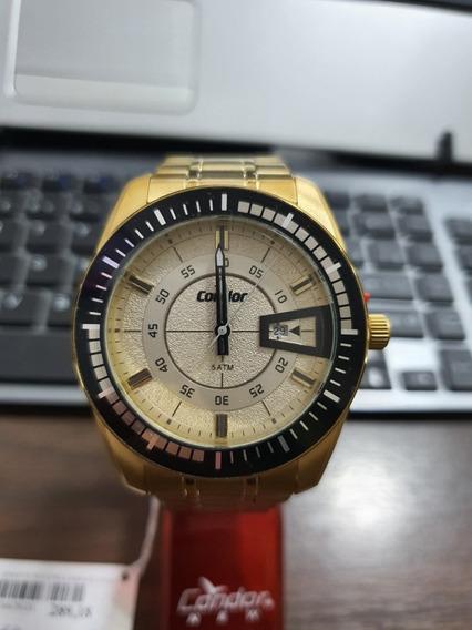 Relógio Condor Masculino Dourado Analógico Co2115kwu/4c