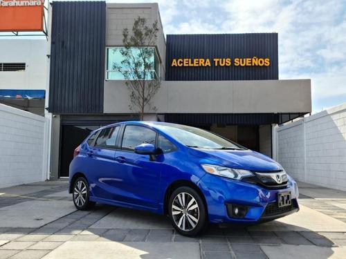 Honda Fit Hit Cvt Hatchback 1.5l V4 130 Hp Azul 2017