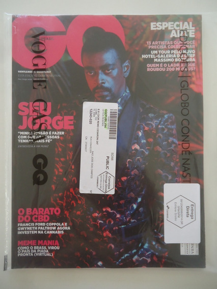 Revista Gq #94 Abril 2019 Seu Jorge - Lacrada