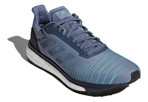 Tenis adidas Solar Drive Raw Steel Boost Correr Gym Running