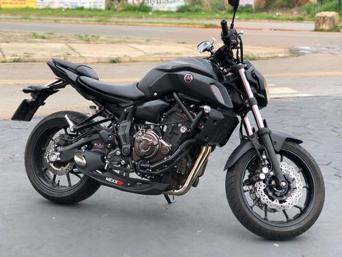 Imagem 1 de 10 de Escapamento Esportivo Taylor Made Full Mexx Yamaha Mt 07