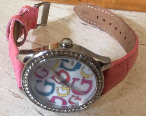 Reloj Original Guess Ext. Piel