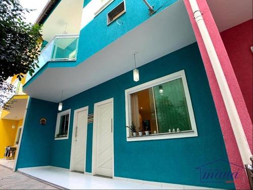 Casa Com 2 Dormitórios À Venda, 62 M² Por R$ 330.000,00 - Parque Lafaiete - Duque De Caxias/rj - Ca0398