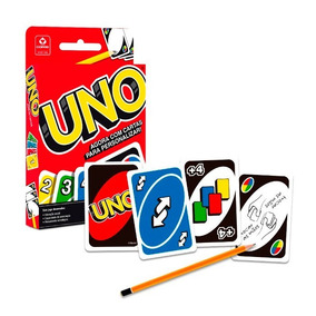 Uno Jogo Cartas Baralho 98190 Copag + Cartas P/ Personalizar