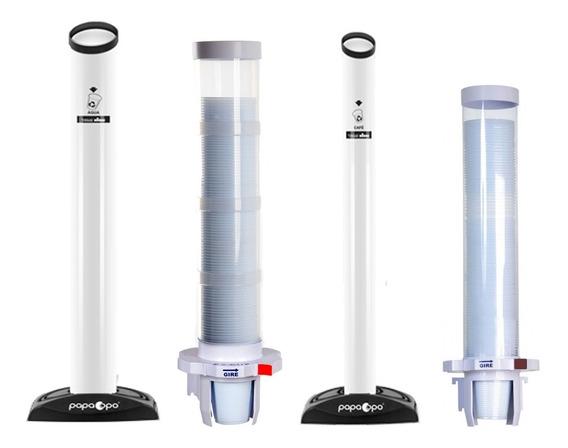 Poupa Copos 1 Água 1 Cafe 1 Lixeira Porta Copo Agua 1 Cafe