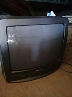 Tv Grundig 20 Con Soporte De Metal Y C/remoto