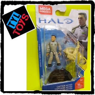 Mega Construx Halo Heroes Captain Keyes