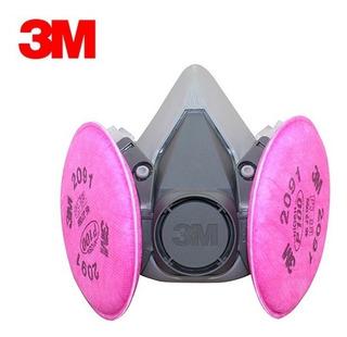 Semimascara 3m 6200 + Filtro 3m 2091 P/polvos Y Partic P100!
