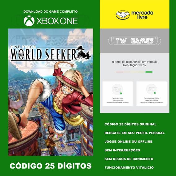 One Piece World Seeker 25 Digitos Original Xbox One Fat S X