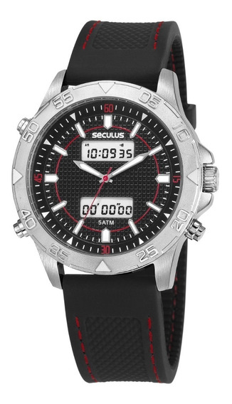 Relógio Masculino Seculus 20618g0svni1 Black Friday
