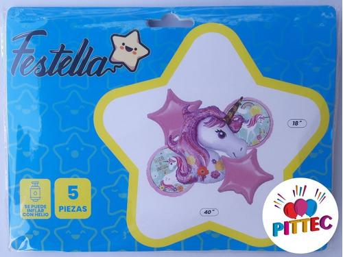 Kit Globos Unicornio