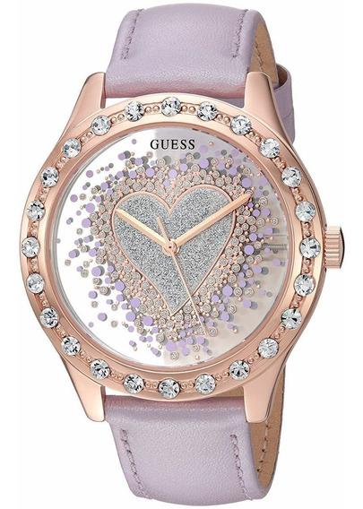Relógio Guess Trendy U0909l3 Essence Of Love Rose Gold-tone