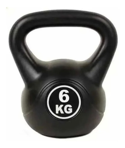 Imagen 1 de 5 de Pesas Rusa Kettlebell 6kg Crossfit Fitness Funcional / Lhua