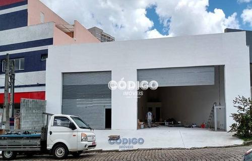 Imagem 1 de 12 de Salão Para Alugar, 100 M² Por R$ 3.500,00 - Vila Galvão - Guarulhos/sp - Sl0016