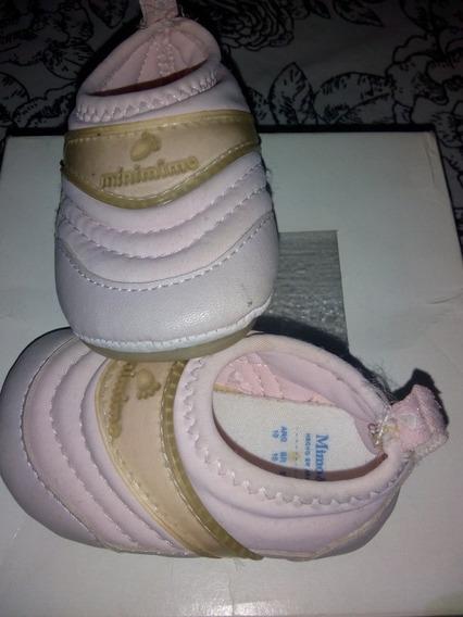 Zapatillas Minimmimo Rosa Bb