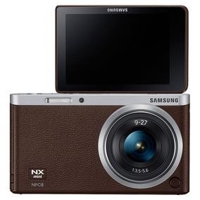 Câmera Digital Samsung Nx Mini Com Lente 9-27mm Nova Na Caix
