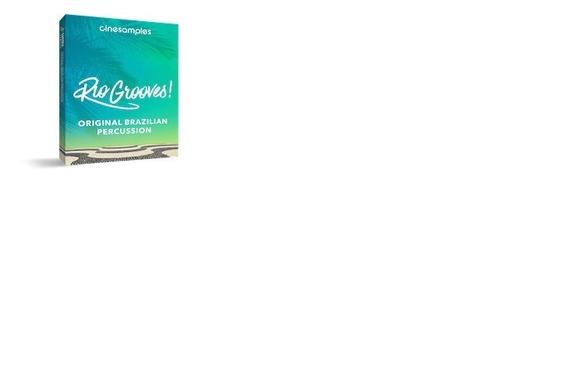 Cinesamples Rio Grooves + Brinde - Envio Imediato