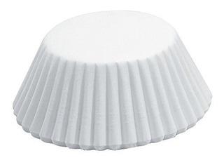 Fox Run 4935 White Bake Cups Mini 75 Tazas