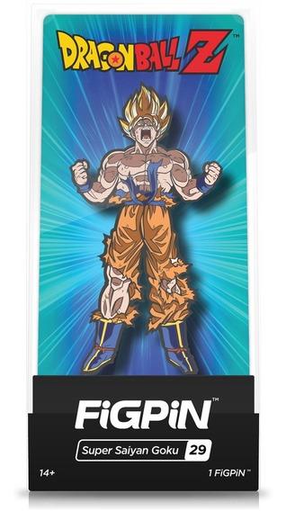 Figura Coleccionable Figpin Dragon Ball Z Ss Goku 29