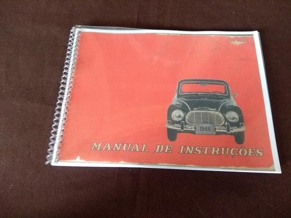 Manual Do Proprietário Dkw 1966