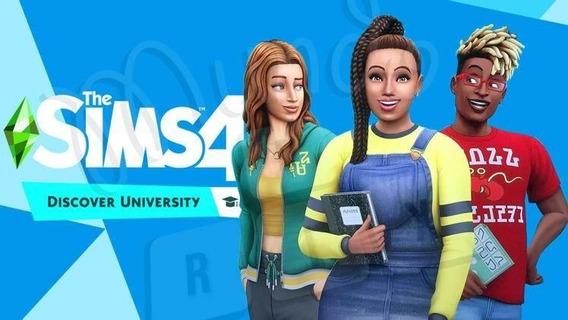 The Sims 4 Vida Universitária Completo
