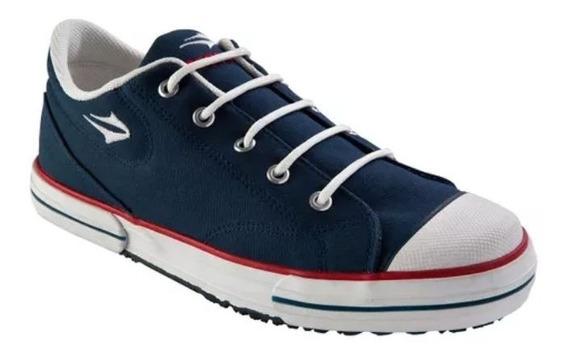 Zapatillas Topper Hombres Nova Low Azul Insignia - 083302