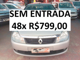 Renault Symbol 1.6 Completo - Sem Entrada 48x R$799,00