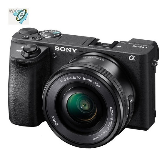 Sony Alpha A6500 Mirrorless 16-50mm Nota Fiscal