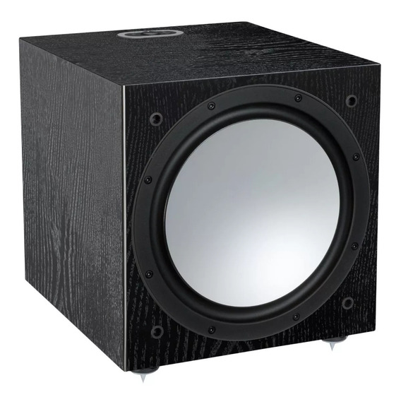 Monitor Audio Silver W-12 Bivolt Black Oak Novo Nfe