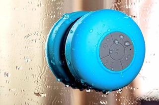 Parlante Bluetooth Inalambrico Resistente Al Agua C/ Ventosa