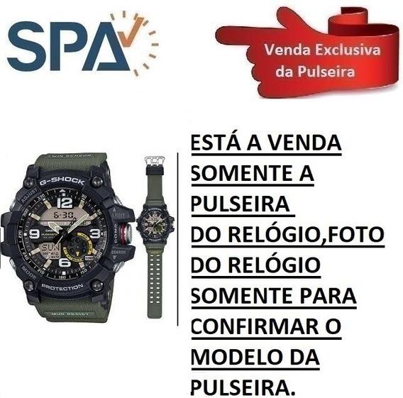 Pulseira Relógio Casio Gg-1000-1a3 Verde 100% Original 2
